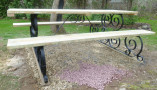 Long View Wrought Iron Picnic Table