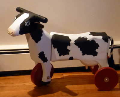 Kiddie Cow Cart