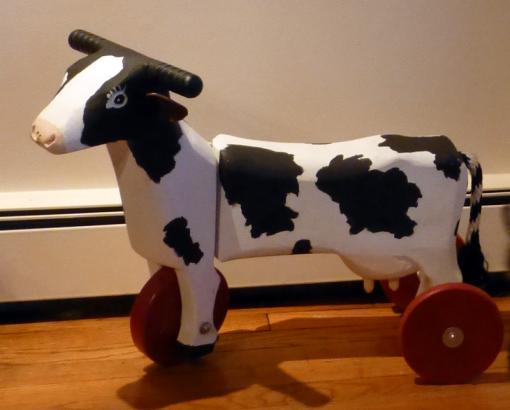 Kiddie Cow Cart